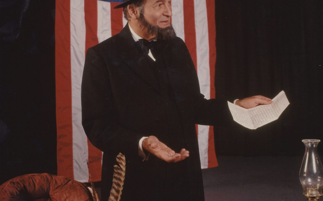 "Abraham Lincoln On Ethics:  An excerpt from the one-man play ""Lincoln Live"""